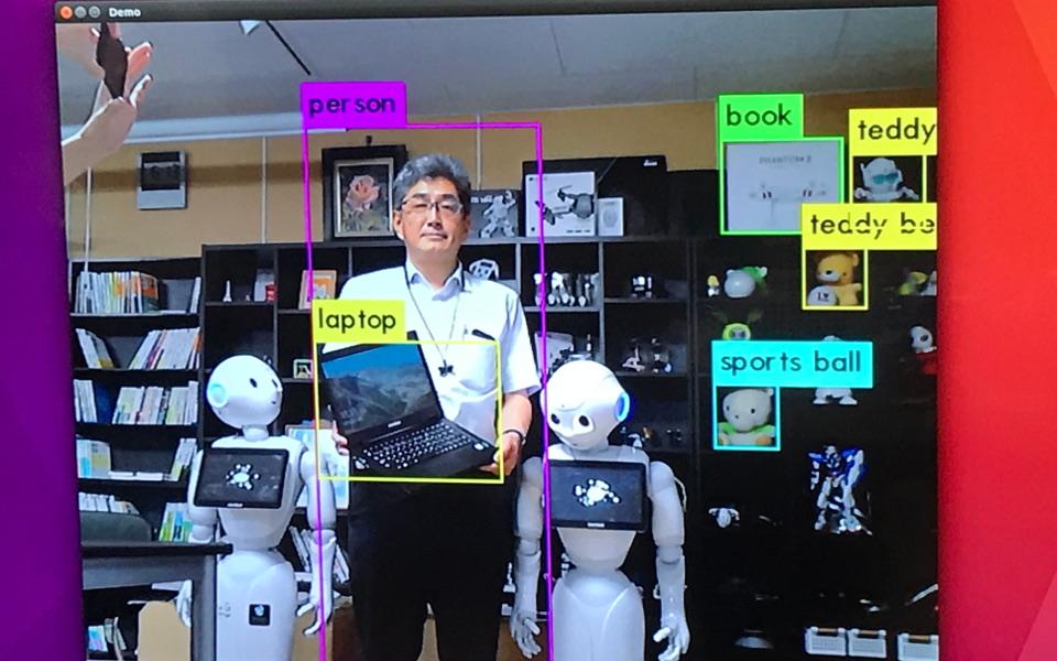 YOLO画像検知システム